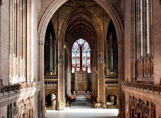 Sir Giles Gilbert Scott's Liverpool Cathedral